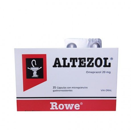 ALTEZOL 20 MG 35 CAPS ALTEZOL 20 MG 35 CAPS